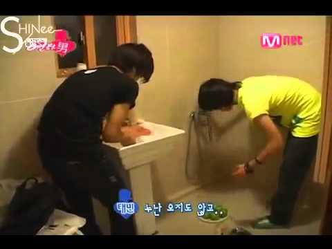 SHINee Reality  Episode 6 Part 1  3 20080903 English Subtitles