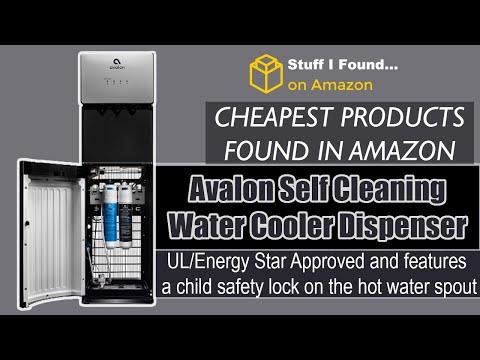 https://amzn.to/2EDnEO4 Avalon A5BOTTLELESS A5 Self Cleaning Bottleless Water Cooler Dispenser