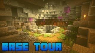 My GIANT Minecraft Survival Base Tour!