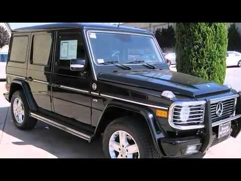 2005 Mercedes Benz G Class G500 Grand Edition Suv In San