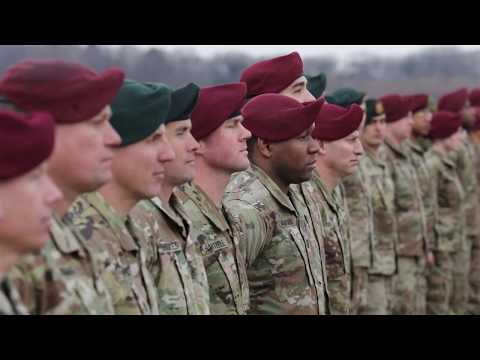 U.S. Army Paratroopers And Japan Ground Self-Defense Force - First Jump 2020