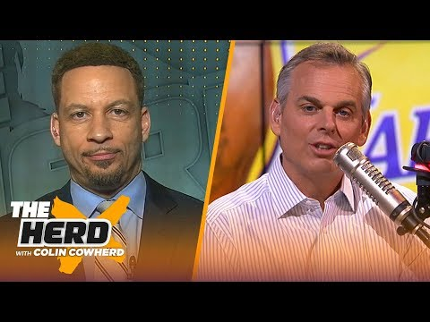 Chris Broussard: LeBron has respect for Lakers HC Frank Vogel, compares Kawhi to MJ | NBA | THE HERD