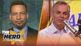 Download Chris Broussard: LeBron has respect for Lakers HC Frank Vogel, compares Kawhi to MJ | NBA | THE HERD Mp3 and Videos