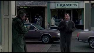 Groundhog Day - all scenes with the old homeless man