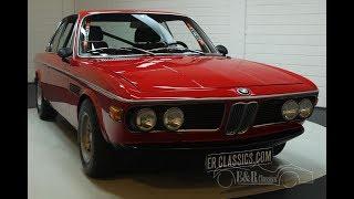 BMW 3.0 CSL 1973-VIDEO- www.ERclassics.com
