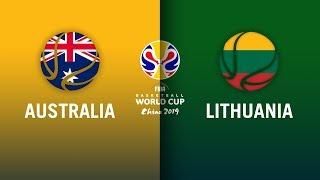Australia v Lithuania - Highlights | FIBA Basketball World Cup 2019