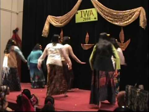 POCHO POCHO INDONESIAN DANCE - BY IWA Group Bruusels Indian Embassy