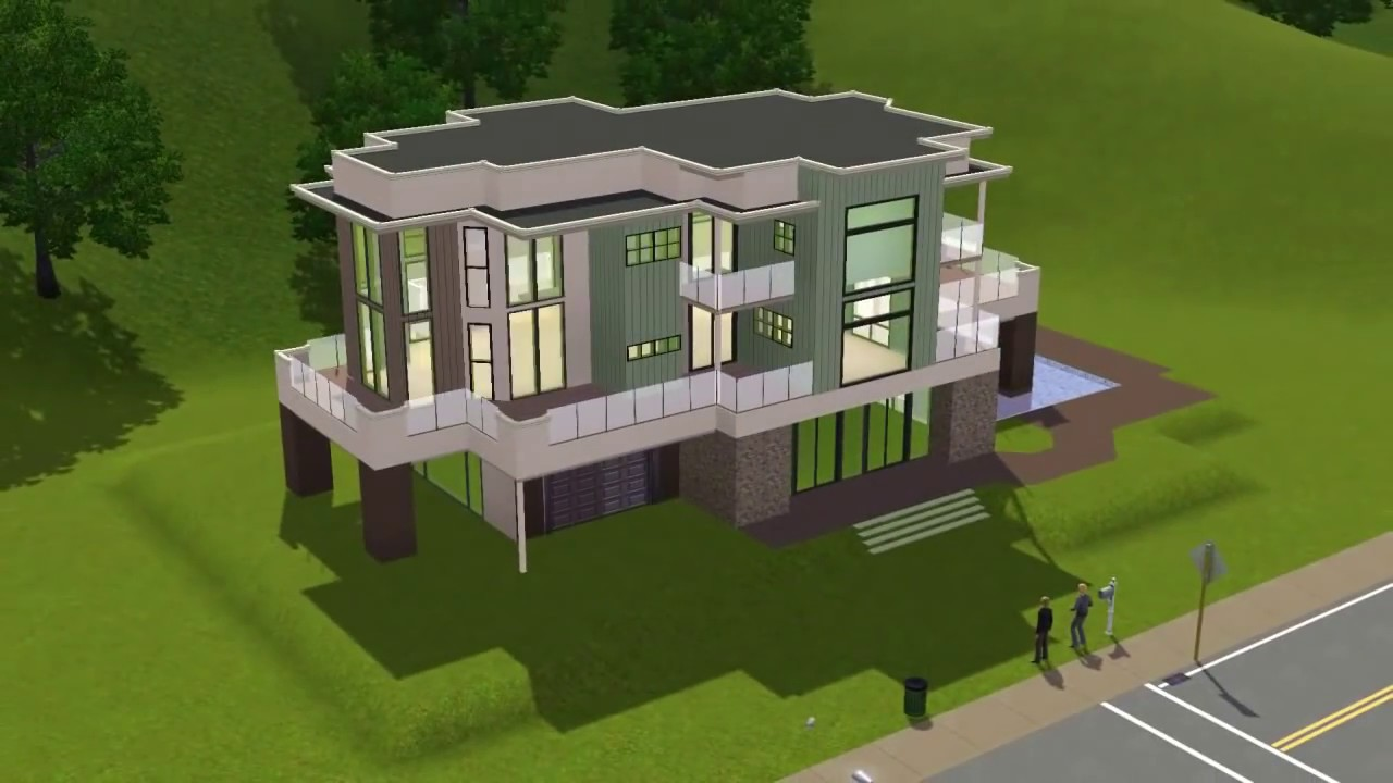 The sims 3 house olactra 39 chrillsims3 youtube for Best house designs sims 3