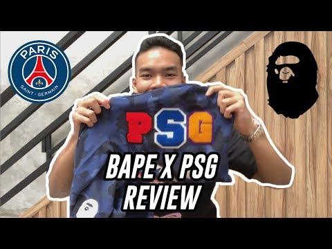 new style 36a9d 0a986 HYPEMANIA | BAPE x PSG Paris Saint-Germain Review - YouTube