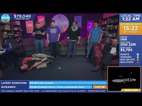 DB2017 - Six people attempt to each dab in a different way.