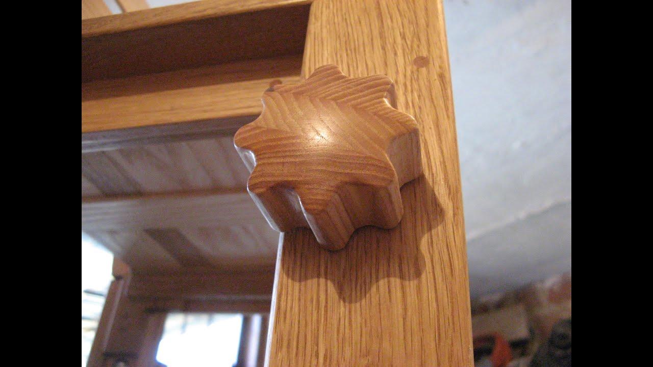 Jak zrobić klamkę z drewna