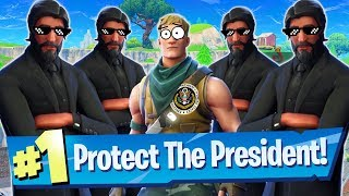 Protect The President (Mini Game) - Fortnite Battle Royale