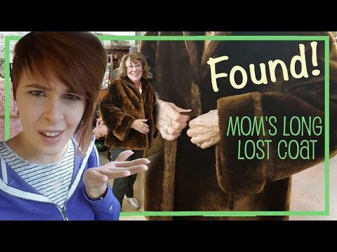 FOUND! Mom's Lost Coat at Antique Store - Reselling for Prof