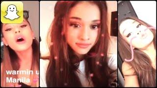 Ariana Grande - Snapchat Videos Compilation 2015
