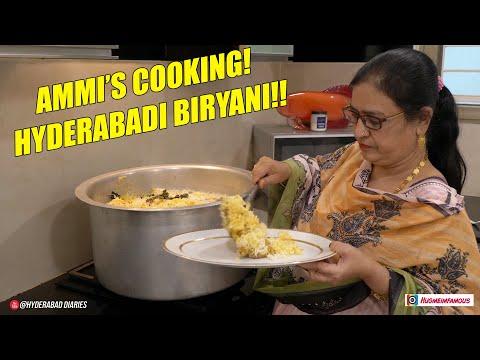 AMMI'S HYDERABADI BIRYANI #FUNNYCOOKING