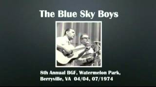 【CGUBA059】The Blue Sky Boys 04/04,07/1974