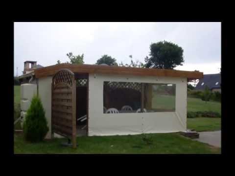 bache transparente pour terrasse reponses utiles. Black Bedroom Furniture Sets. Home Design Ideas