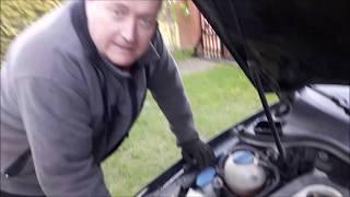 Wymiana brudnego filtra paliwa i kłopoty...