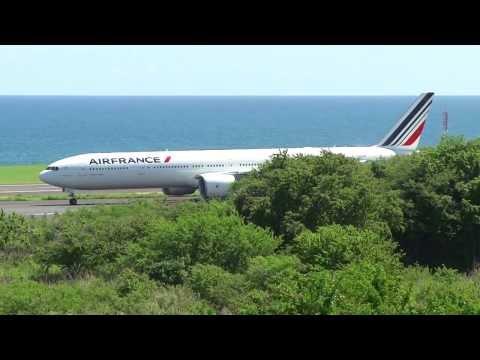 Départ Du Vol AirFrance 645 @ Saint Denis De La Réunion