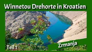 WINNETOU Drehorte in Kroatien : Teil 1 Zrmanja Schlucht - Fotoshow mit Kommentar