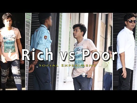 POOR vs RICH SOCIAL EXPERIMENT IN INDIA | HOW PEOPLE JUDGED BY THEIR CLOTH | FUNDAY PRANKS