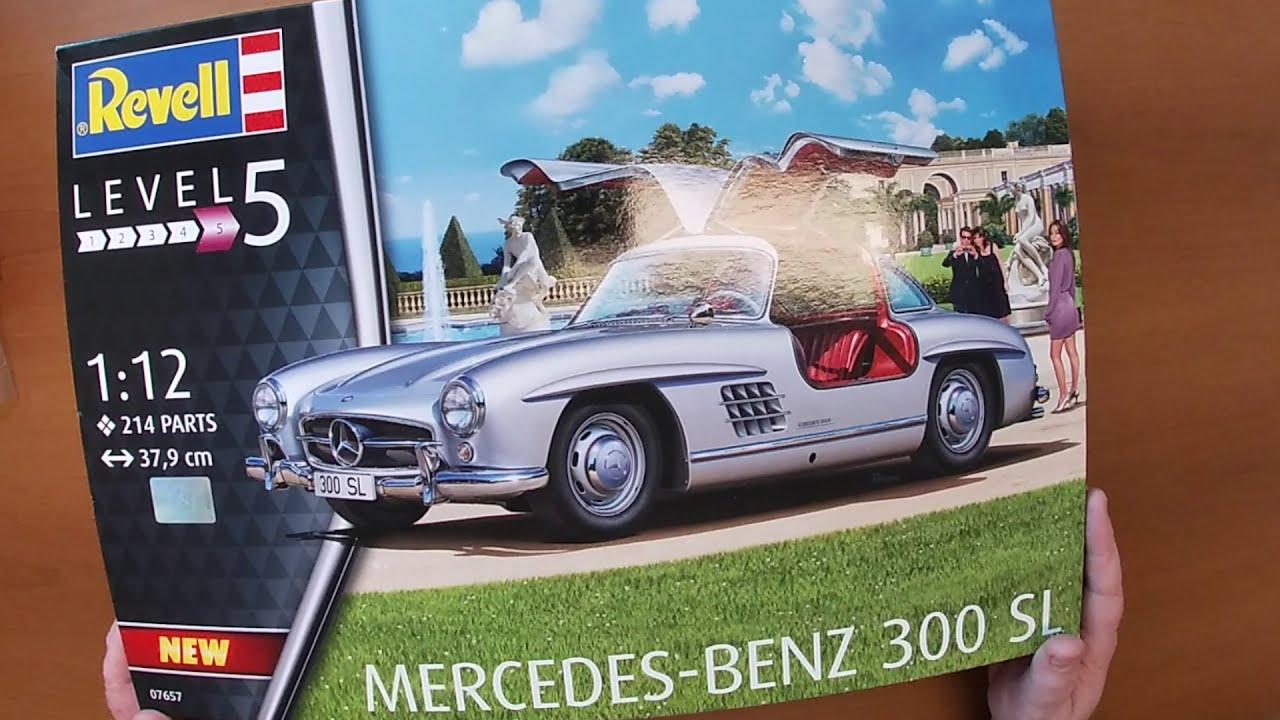 First Look Revell Mercedes-Benz 300 SL (german/english subtitles)