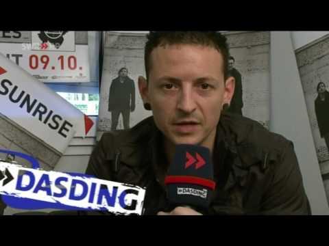 Dead By Sunrise - DasDing.tv Chester Interview (Stuttgart 30.07.2009)