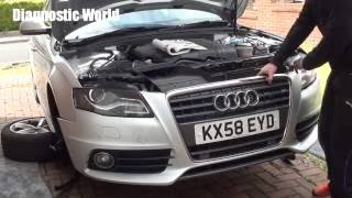 Audi A4 B8 Front Bumper Removal 2008 to 2015 models