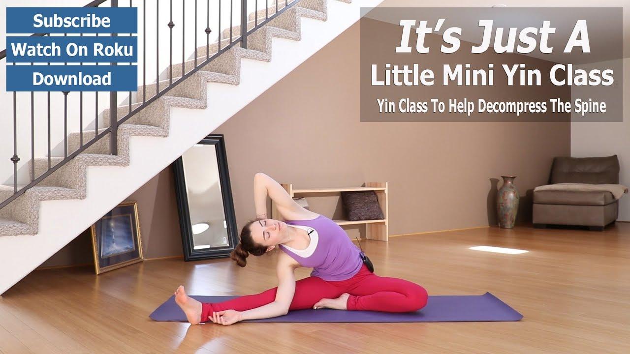 Beginner Yin Yoga | Just A Little Yin