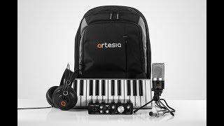 Artesia ARB-4 Laptop Studio Recording Bundle