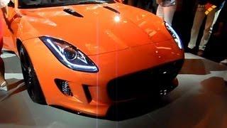 إطلاق السيارة الرياضية جاغوار FType طراز 2013 في دبي