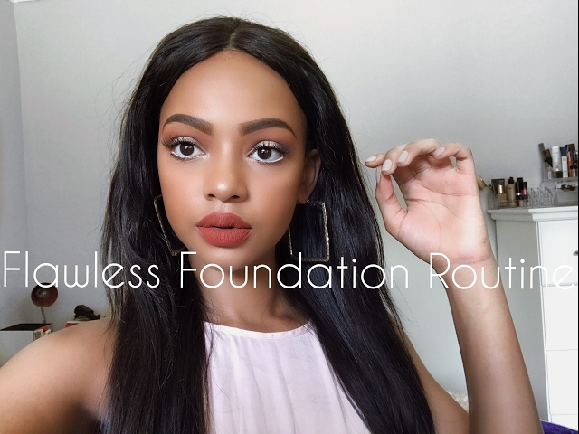 Flawless Foundation Routine + Colour Correcting | MIHLALI N