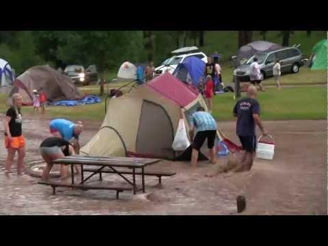 Camp Flood KOA Hill City, South Dakota July 21, 2012