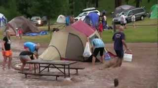 Camp Flood KOA Hİll City, South Dakota July 21, 2012