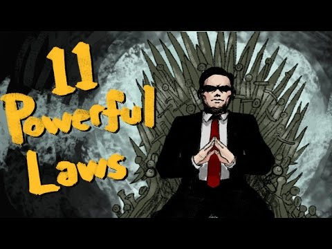 The 48 Laws Of Power  - 11 MOST POWERFUL Laws (Ft. Illacertus)