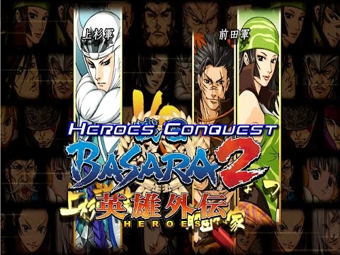 Sengoku Basara 2 Heroes Kenshin Heroes Conquest Walkthrough Commentary
