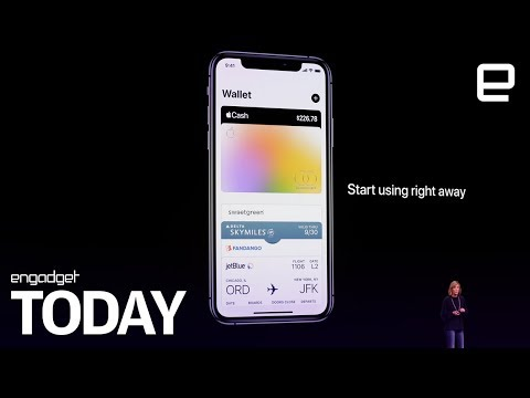 Apple announces TV+, a credit card and more