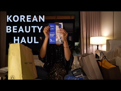 KOREAN BEAUTY HAUL  Song of Style