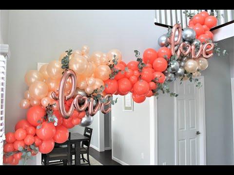 Balloon Garland DIY | Tutorial | How To | New Technique