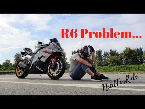 Yamaha R6 Engine Problem | Motovlog Singapore | NeedforRide