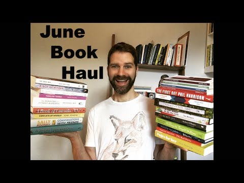 Book Haul / Exciting New Books Published in June 2017