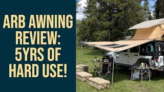 ARB Awning Review: 5yrs of hard use - the good and the bad!
