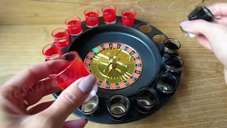 Алкогольная рулетка на 16 рюмок (Алкорулетка) Видео обзор podarki-odessa.com
