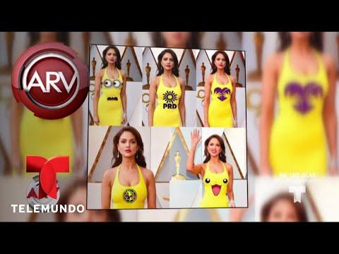 Eiza González responde a las críticas por su vestido | Al Rojo Vivo | Telemundo