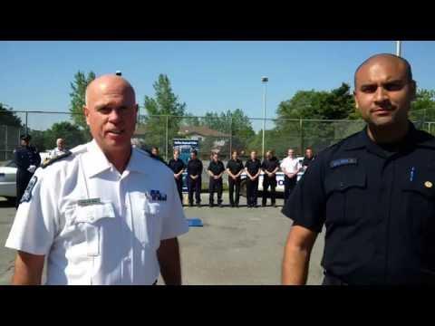 Halifax Regional Police 22 Pushups Challege