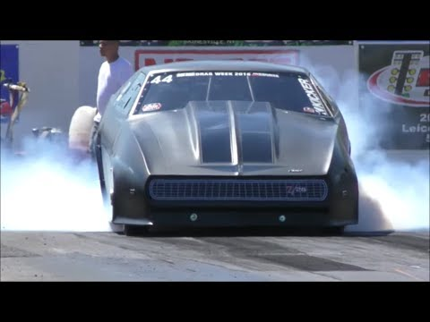 """Jeff Lutz """"Madmax"""" crazy fast pass vs Blown T/A at Empire Dragway in New York"""