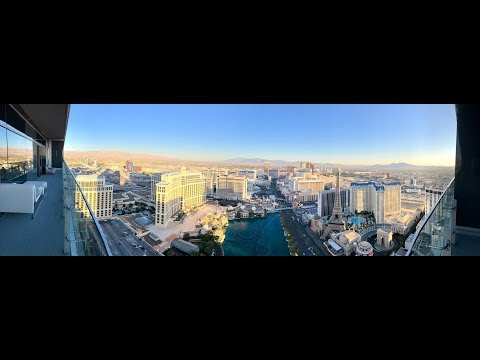 TOUR OF BOULEVARD PENTHOUSE SUITE AT THE COSMOPOLITAN HOTEL