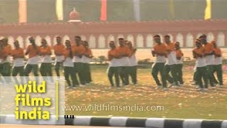 NCC Cadets perform on bollywood songs during closing ceremony