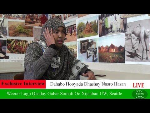 SEATTLE: Nin Cadaana Weeraray Gabar Somali Oo Xijaaban University Of Washington.