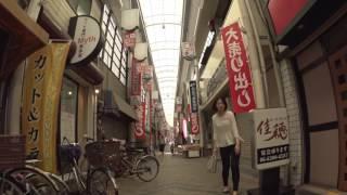 阪急神戸線 神崎川駅前の 三津屋商店街